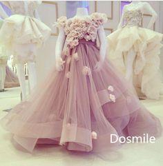 Haute Couture de un hombro color de rosa lavanda encuadre de cuerpo entero Multilayers colmenas plisadas vestido de bola del tutú flor del partido del vestido de cumpleaños en Vestidos de Damita de Honor de Bodas y Eventos en AliExpress.com | Alibaba Group