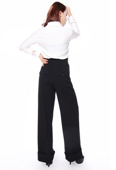 1940s Style Pants - Amber Middaugh 2015 Standard Size Retail $43.95 Plus Size $49.95