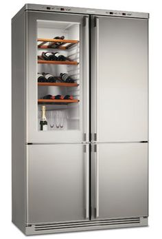 Aunque ya tengo un frigorífico y una vinoteca, tenerlos en el mismo electrodoméstico me parece una idea genial.