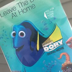 If you order the Finding Nemo Best Dad in the Sea Book from my Etsy shop (prior to June 14, 2017), you'll receive the digital copy of Finding Dory for FREE! My gift to you! As always, thanks for supporting My Tangled Chaos!