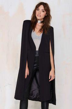 Lavish Alice On the Fly Cape Jacket - Blazers | Jackets | Jackets + Coats