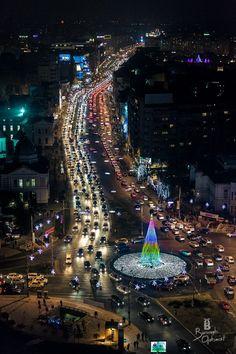 Christmas in Bucharest, Romania Bulgaria, Beautiful World, Beautiful Places, Places Around The World, Around The Worlds, Places To Travel, Places To Go, Romania Travel, Little Paris