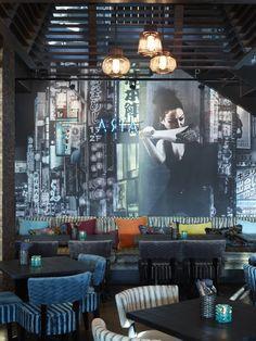 Restaurant Asia, designed by Metropolis arkitektur & design. Asia, Lost, Restaurant, Interior, Projects, Design, Log Projects, Blue Prints, Indoor