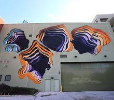 Something new from 1010 in Honolulu Hawaii for @powwowworldwide #streetart #streetartnews @1010zzz  @romrom by streetartnews