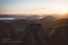 Morning vibes on a castle ruin somewhere in Germany. by Bokehm0n LandScapes Photography #InfluentialLime