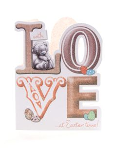 Tatty Ted Easter card