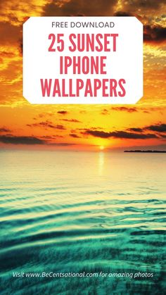 Sunset iPhone Wallpapers FREE download