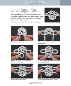 Decorative Fusion Knots: A Step-by-Step Illustrated Guide to New and Unusual Ornamental Knots Easy Diy Crafts, Diy Arts And Crafts, Yarn Crafts, Sewing Crafts, Loom Band Patterns, Celtic Patterns, Rope Knots, Macrame Knots, Celtic Knot Tutorial