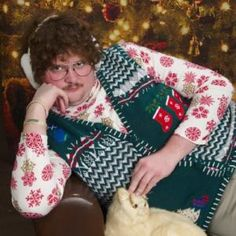 Behold!  Twenty ridiculously awesome Christmas sweaters that will fit right in at your annual Ugly Sweater Party.: 20 of the Funniest Ugly Christmas Sweaters Ever Made