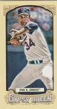 2014 Gypsy Queen Mini Box Variations #225 Nolan Ryan Texas Rangers