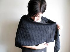 Less Is More Shawl by terhimon, via Flickr, free pattern by Maanel