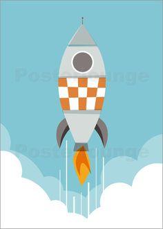Poster rakete