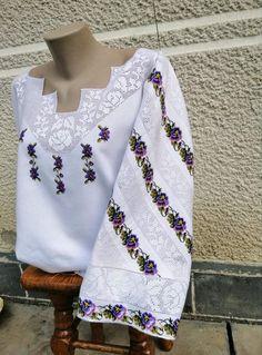 ВИШИВКА: СУЧАСНА ТА СТАРОДАВНЯ — Фото | OK.RU Bell Sleeves, Bell Sleeve Top, Crochet Cardigan, Crochet Baby, Cross Stitch, Costumes, Mantel, Long Sleeve, How To Wear
