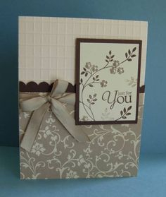 Mocha Morning & SU Score board by gails - Cards and Paper Crafts at Splitcoaststampers