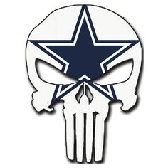 Dallas Cowboys Punisher Logo