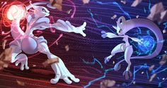 Anime Pokemon  Pokémon Mewtwo (Pokémon) Mega Mewtwo X (Pokémon) Mega Mewtwo Y (Pokémon) Mega Evolution (Pokémon) Pokemon Battle Wallpaper
