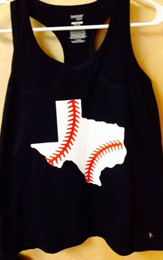 Texas with softball laces
