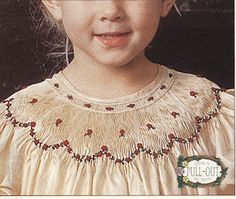 ONE OF MY FAVORITES EVER!!!   Creations By Michie` Blog: Smocking and Pleating Silk