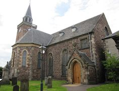 Old High St. Stephens Church in Inverness. Very emotional place for me. Several Jacobites who survived the battle at Culloden were executed here