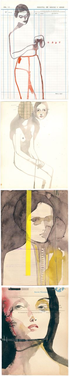 100 Girls on Cheap Paper, Tina Berning // The Jealous Curator /// curated contemporary art /// step-by-step. every day.