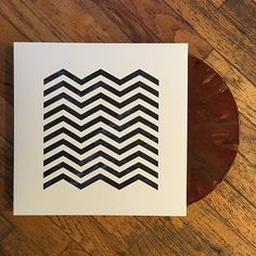 """OST(UESDAYS): That format you like is going to come back in style... Our only beef with this beautiful pressing of the Twin Peaks score is the """"damn fine cup of coffee"""" colored vinyl. Do we detect a swirl of cream in there? Because we all know that Cooper takes his coffee """"black as midnight on a moonless night."""" #ostuesdays"""