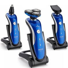 4D IPX7 3In1 Washable Floating Head Electric Shaver Razor Nose Trimmer Hair Temple Cutter Travelling at Banggood
