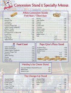 shopping list concession stand pinterest shopping lists food truck and snacks. Black Bedroom Furniture Sets. Home Design Ideas