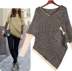 Korean Style Women's Pocket Un