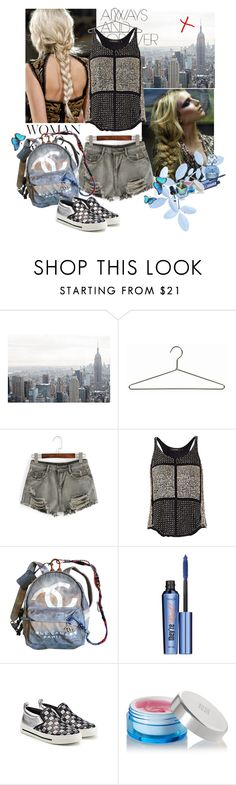 """""""BLUE SUMMER"""" by alunaria ❤ liked on Polyvore featuring WithChic, Isabel Marant, Chanel, Benefit, Marc Jacobs, Givenchy and Cirque Colors"""