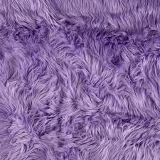Faux Fur Shag Fabric 1 yard Choose Lavender or 4 by FurAndFabric, $24.95