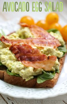 Avocado Egg Salad from Our Best Bites