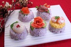 プチケーキ寿司