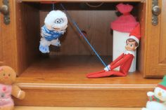 December 20, 2013 ~ I was starting to wonder how Pauly was going to get away from the abominable snow monster...but it looks like Pauly won! Phew! that was a close one!!!!