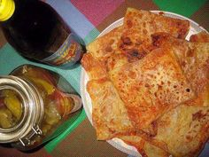 Algerian food, Mhadjeb so hottt!!!