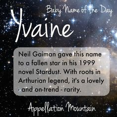 Looking for an unexpected celestial name for a girl? Our #BabyNameoftheDay might be just right.