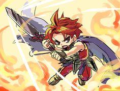 credit : 9mg2.deviantart.com/ Brave Frontier, Pretty Cool, Fuji, Final Fantasy, Amazing Art, Chibi, Video Games, Character Design, Fan Art