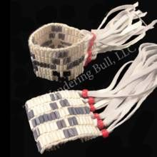 Clay Wampum Bracelet - Wampum - Jewelry Native American Products and Craft Supplies