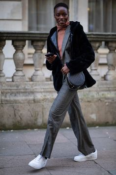The Best Street Style Looks From London Fashion Week Fall 2020 London Fashion Weeks, Autumn Street Style, Street Style Looks, Cool Street Fashion, Autumn Fashion, Normcore, Style Inspiration, Fall, Danish Fashion