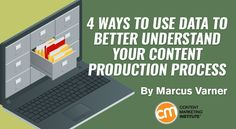 Follow these four steps to start connecting data to improve your content production process – Content Marketing Institute
