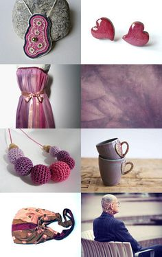 DreamsGuardian featured my purple hand dyed cotton
