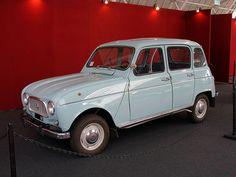 Renault R4 TL. Genial coche de boda