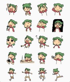 The many expressions of Yotsuba