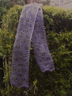 Millicent scarf crochet pattern