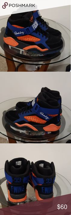 huge selection of 574ac e0d18 Patrick Ewing sneakers men s size 13! Size 13 black orange blue Patrick  Ewing high top