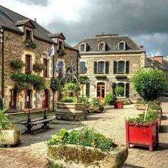 Rochefort en Terre ~ Morbihan ~ Brittany ~ France