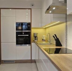 (notitle) - Mebel v Dom - Wix. Kitchen Pantry Design, Modern Kitchen Cabinets, Home Decor Kitchen, Modern Kitchen Interiors, Modern Kitchen Design, Interior Design Kitchen, Cuisines Design, Luxury Kitchens, Kitchen Remodel