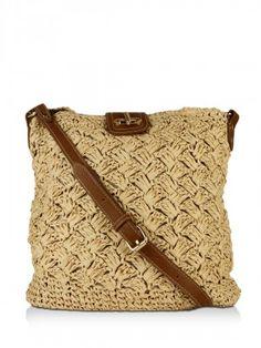 OASIS Caroline Crochet Cross Body Bag from koovs.com
