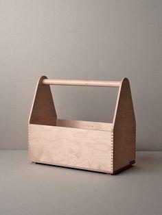 「木製工具箱」