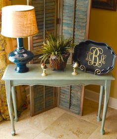 DIY decor  | monogrammed tray | Home DIY Decor