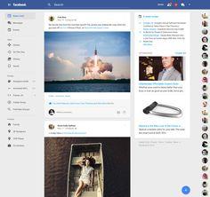 Facebook goes material / James Bergen Plummer